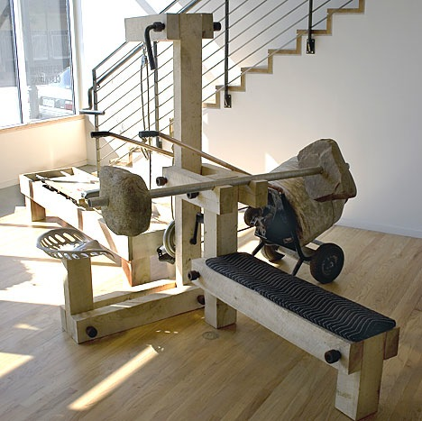 """Exercise machine does """"Real Work"""""""