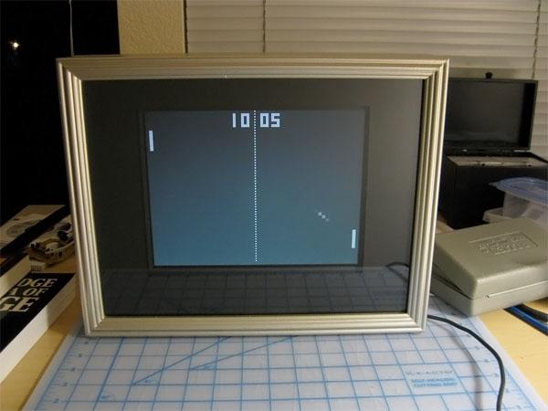 DIY pong clock