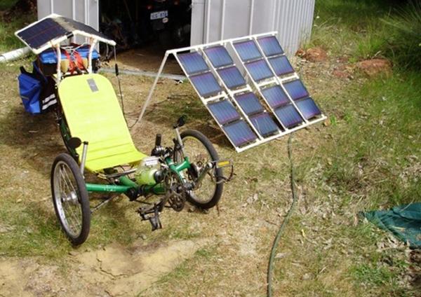 Solar Powered Electric Trike