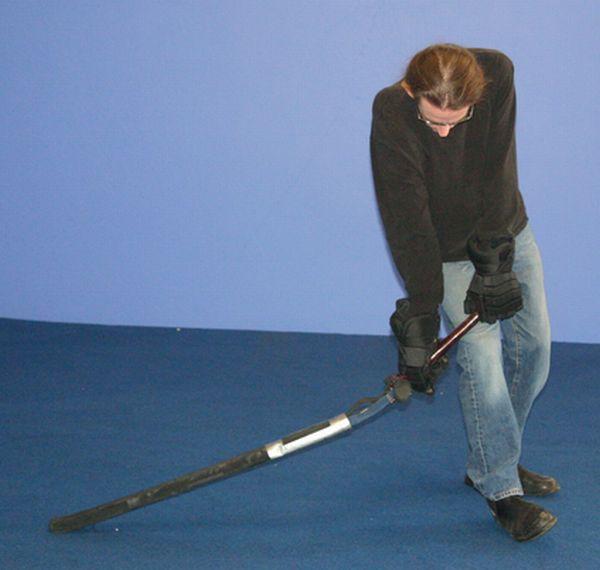 Neal Stephenson's Telescoping Sword