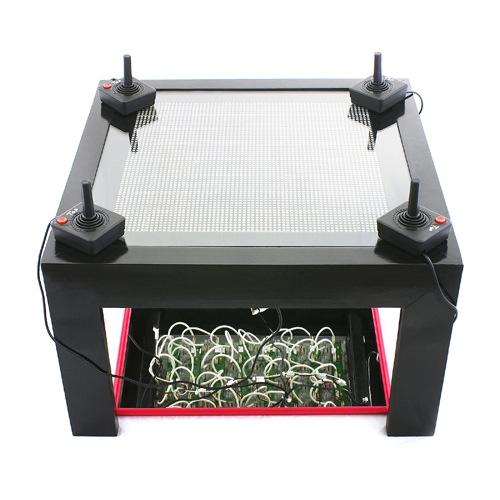 SparkFun's LED coffee table