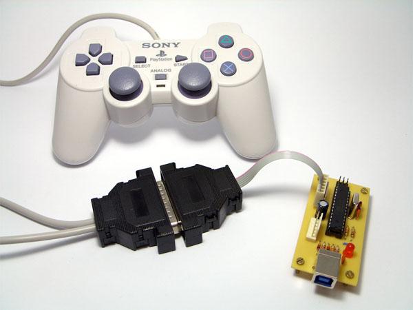 DIY PSX to USB is A-OK!