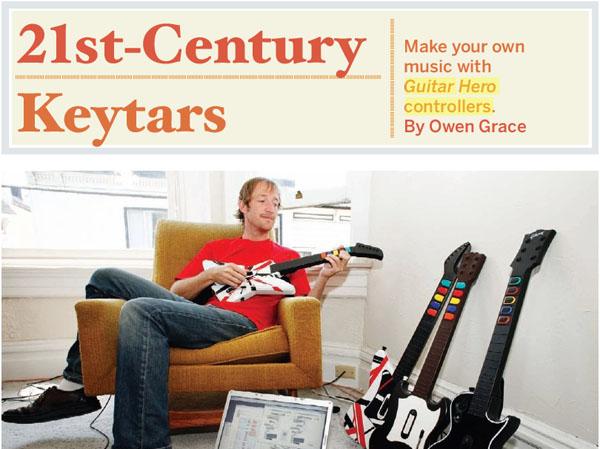 Wayne Coyne's guitar hero mash-up axe
