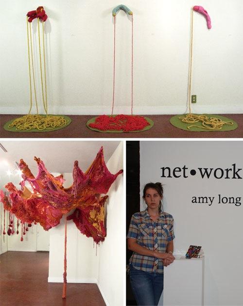 Emily Barletta's Crocheted & Felted Sculptures