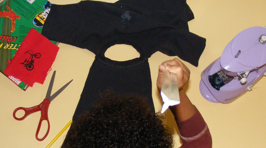 DIY Halloween : Superhero Cape for Kids