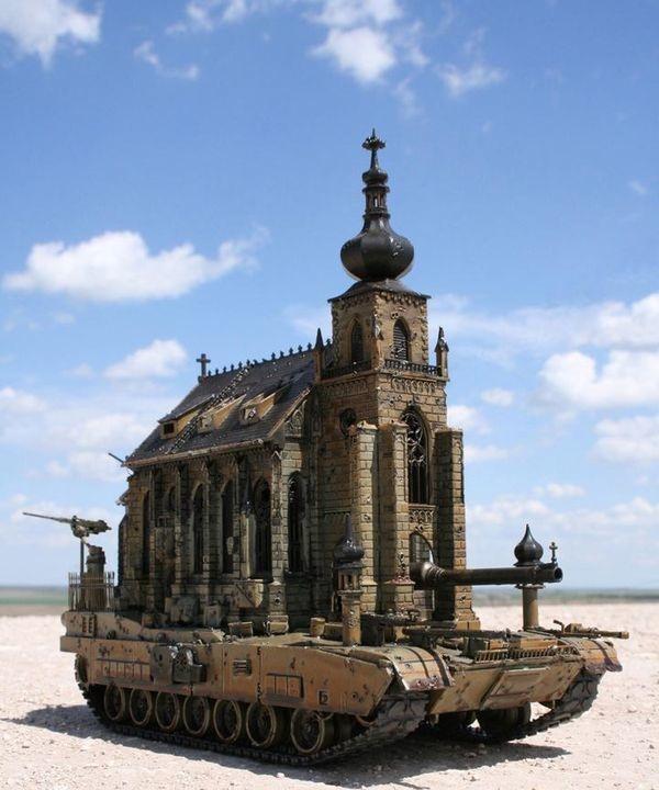 Church tank!