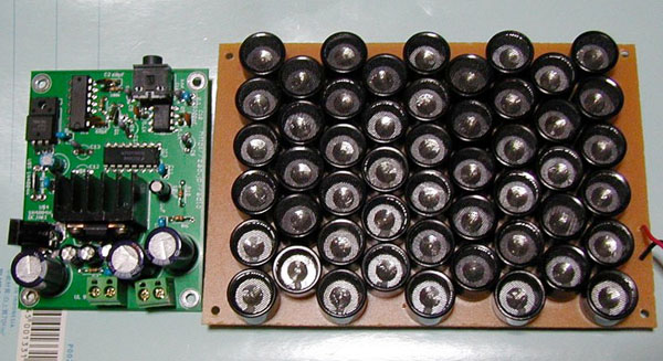 Homebrew parametric speaker