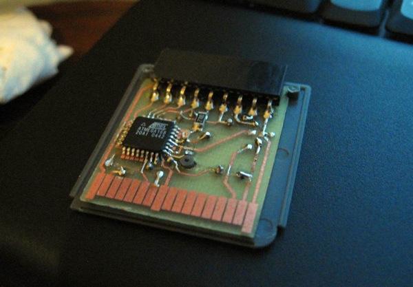 ds brut – open hardware prototyping platform for the Nintendo DS