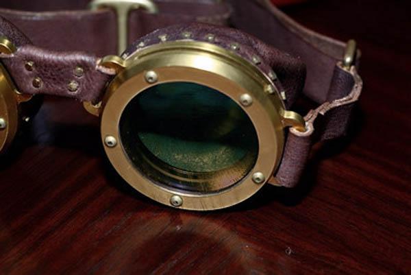 Titanium goggles