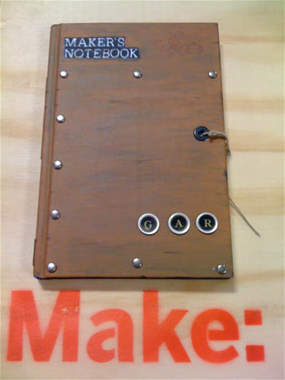 Hacked Maker's Notebooks at the Faire