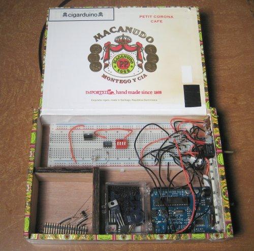 Cigar box hacking lab