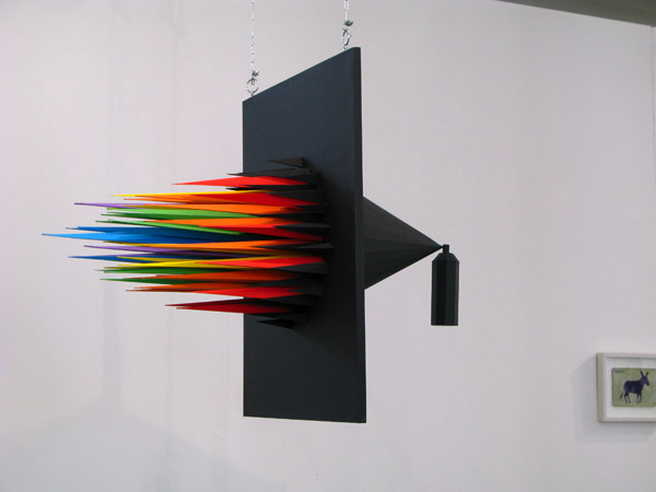 Spray paint jumps into the real world