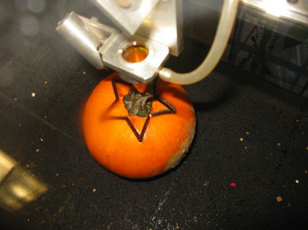 Laser pumpkins