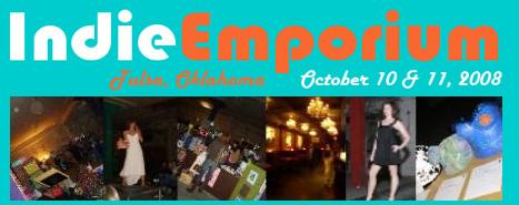 Indie Emporium in Tulsa, OK this Friday & Saturday, Oct 10-11