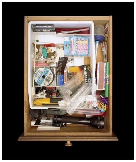Paho Mann's junk drawers
