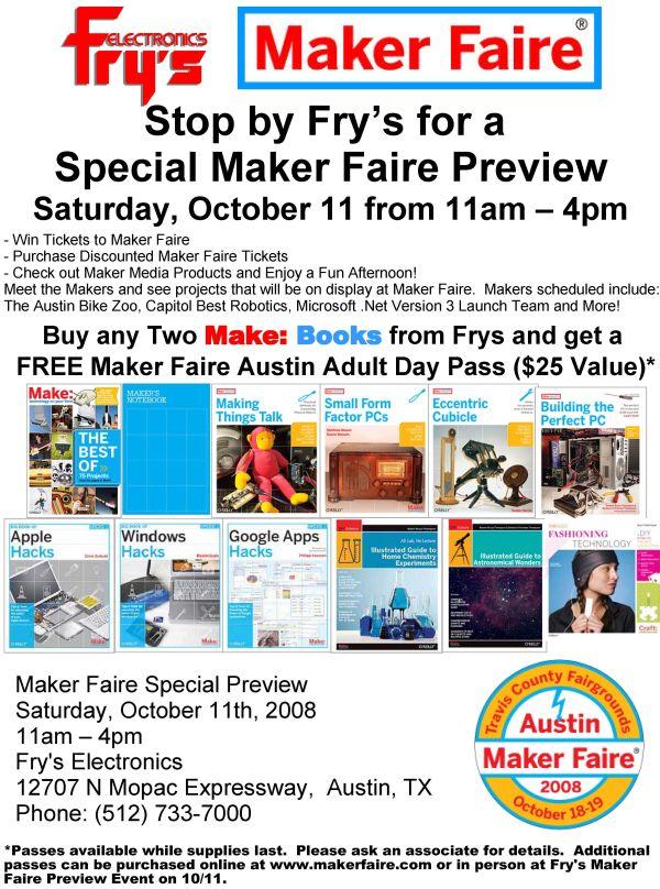 Austin Event: Maker Faire Preview!