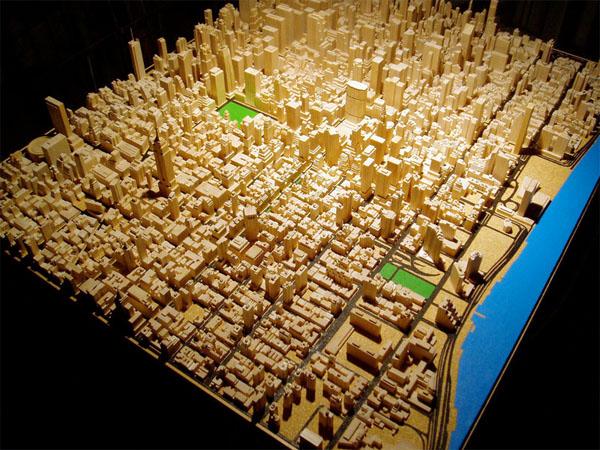 Amazing miniature midtown Manhattan