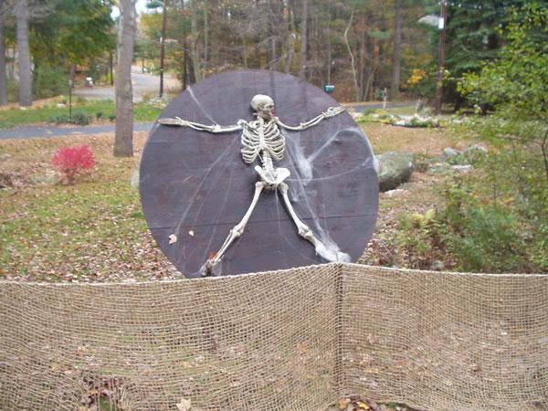 DIY Halloween – Wheel o Death
