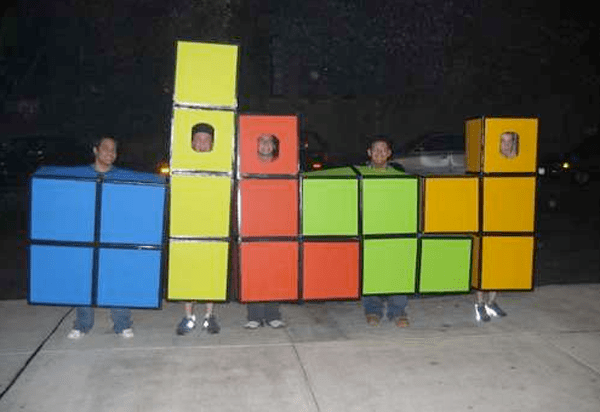 Group Tetris Costume