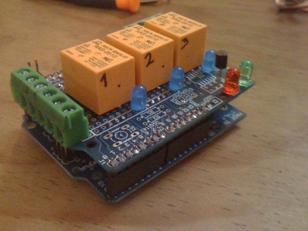 ReleShield for Arduino
