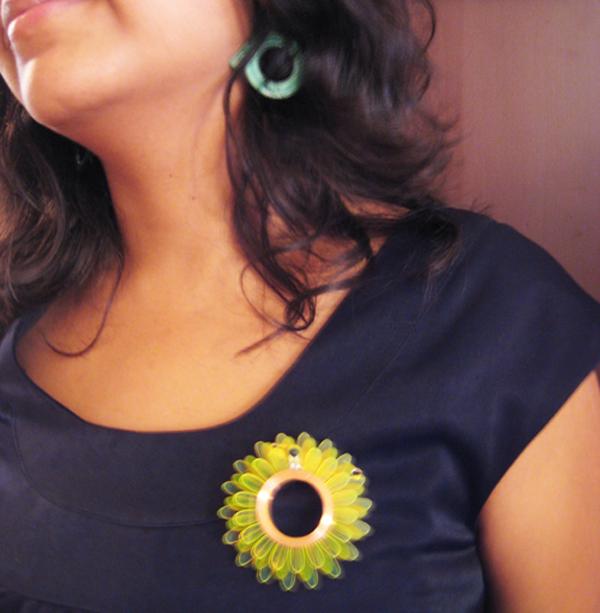 RFID flower will sense your environment