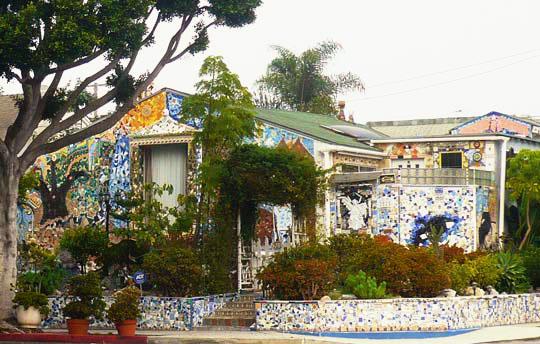 Santa Monica's All-Mosaic House