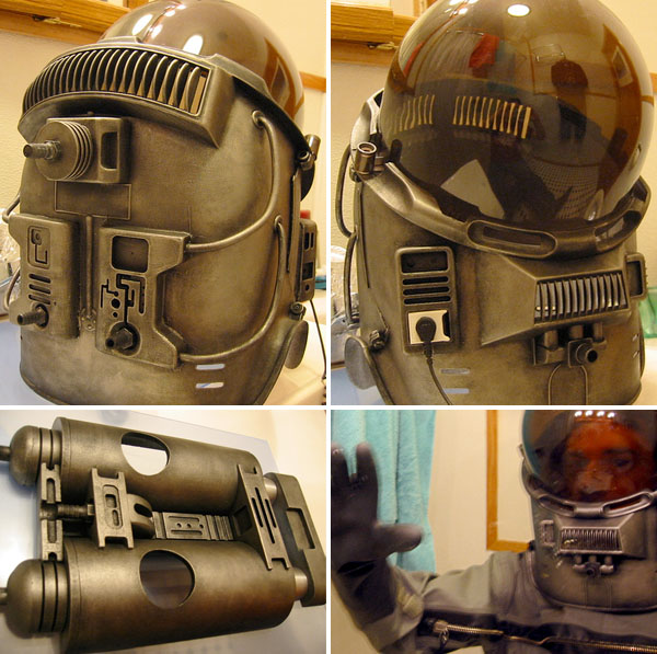 Dr. Photon's spacesuit