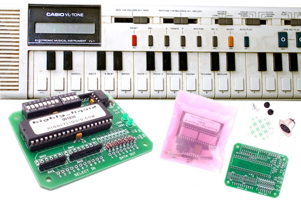 Casio VL-1 MIDI kit