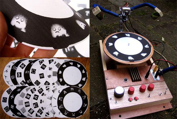 The Strobovj musically synched stroboscope