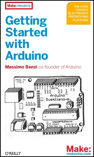Another New book at Maker Faire: Getting Started with Arduino