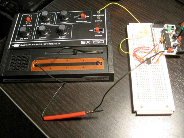HOW TO – Control a Gakken SX-150 using Arduino