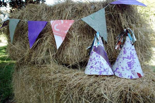 The Upcyclist Party Contest – Fused Plastic Party Hat & Bunting