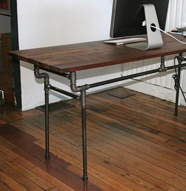 DIY: Pipe furniture