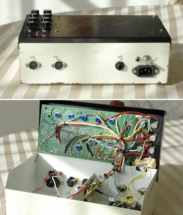 MIDI drumbox with a vintage voice