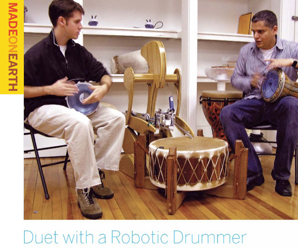 Duet with a Robotic Drummer