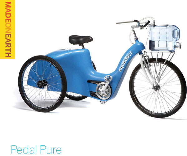 Pedal Pure – Providing clean water for all could be as easy as riding a bike