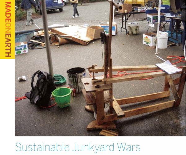 Sustainable Junkyard Wars