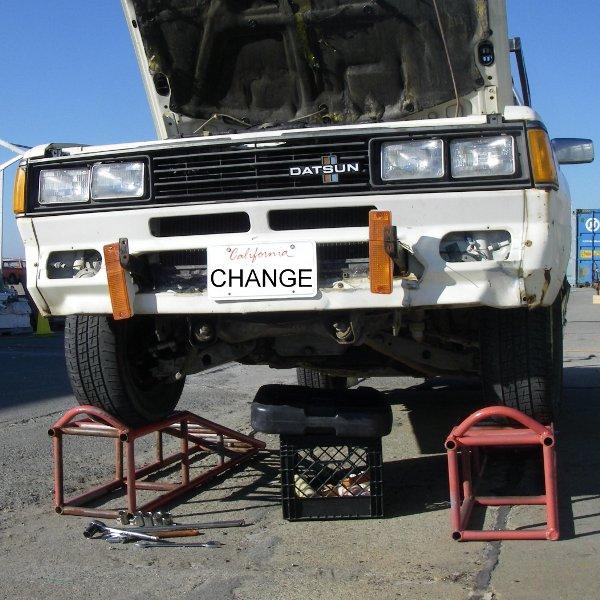 DIY oil change…