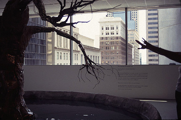 Growing, Raining Tree by Amorphic Robot Works