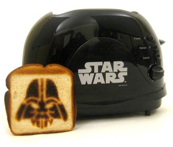 Darth Vader Toaster vs the DIY rebel toast