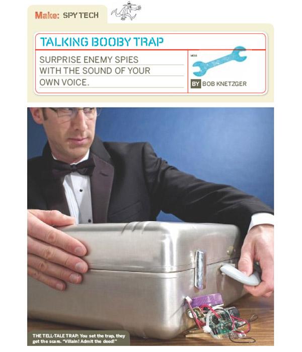 Weekend Project: Talking Booby Trap (PDF)