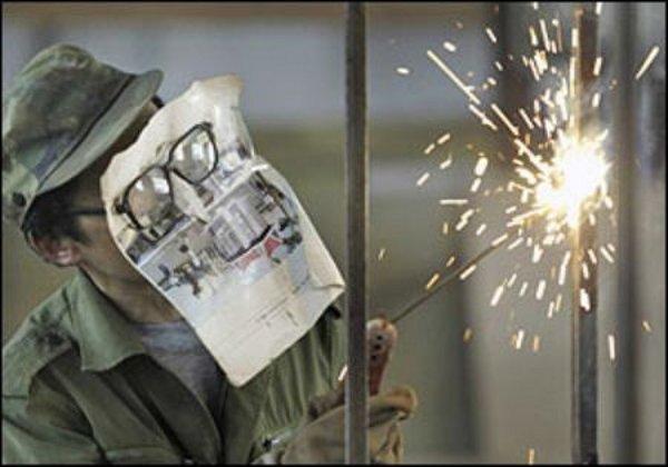 Cheap welding for punks