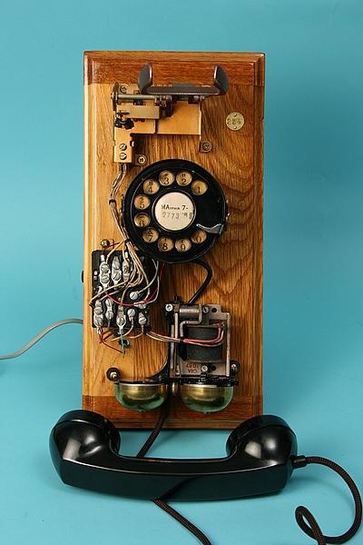 The Von Slatt deconstructed workshop telephone