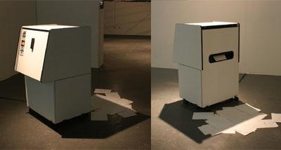 Art dispensing machine