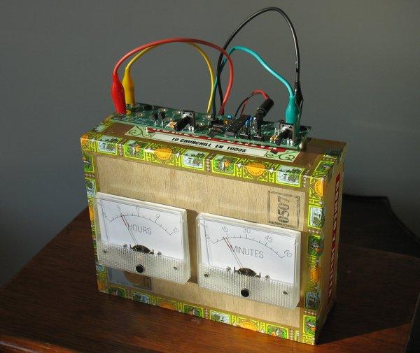 Chronulieta cigar box clock