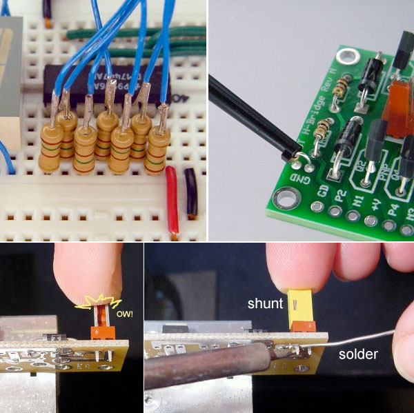 Electronics tips from a robot maker