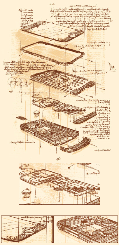 If DaVinci invented the iPhone