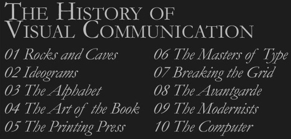The History of Visual Communication