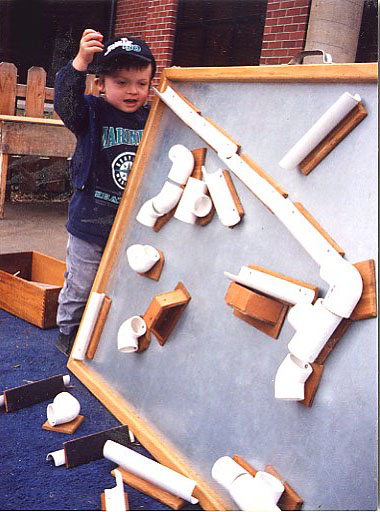Marble roll for kids