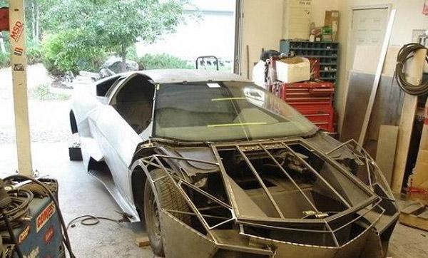 DIY V12 Lamborghini Diablo